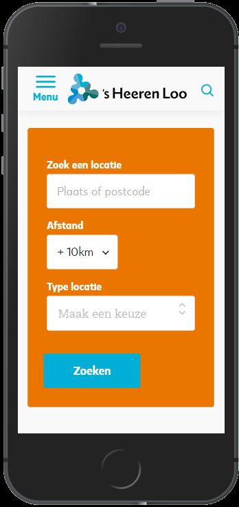 Locatiezoeker mobiel