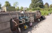 Op onze zorgkwekerij Bloemenhof maken we gebruik van deze kruiwagens.